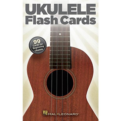 Hal Leonard Ukulele Flash Cards (99 Cards for Beginning Ukulele) Ukulele Series General Merchandise by Various thumbnail