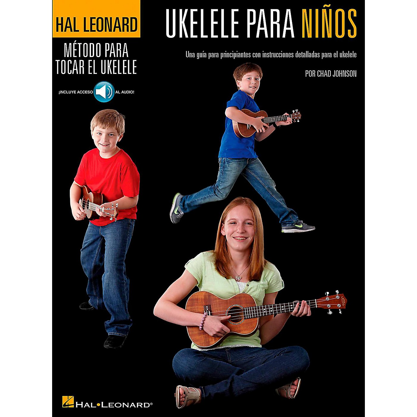 Hal Leonard Ukulele For Kids (Spanish Edition) Hal Leonard Ukulele Method Series Book/Online Audio thumbnail