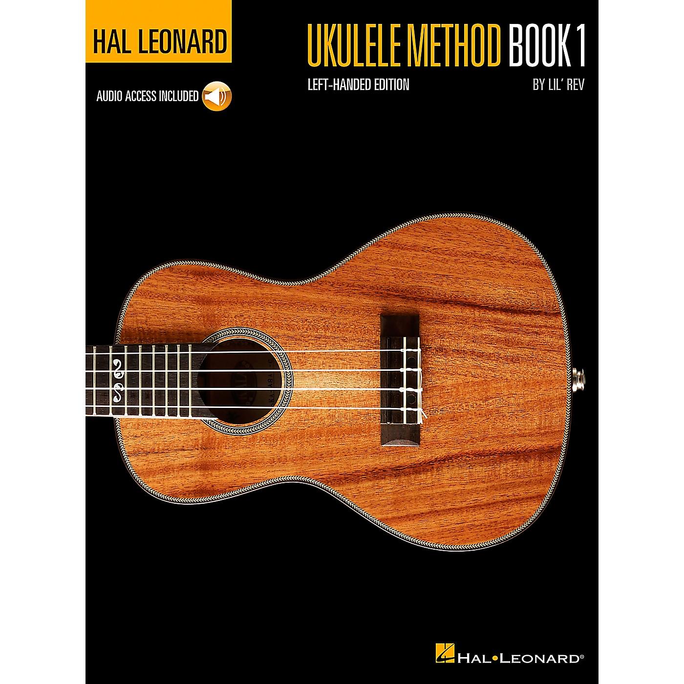 Hal Leonard Ukulele Method Book 1  Left-Handed Edition Book/Online Audio thumbnail