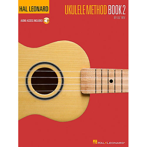 Hal Leonard Ukulele Method Book 2 with CD thumbnail