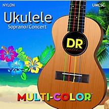 DR Strings Ukulele MultiColor Soprano Concert Strings
