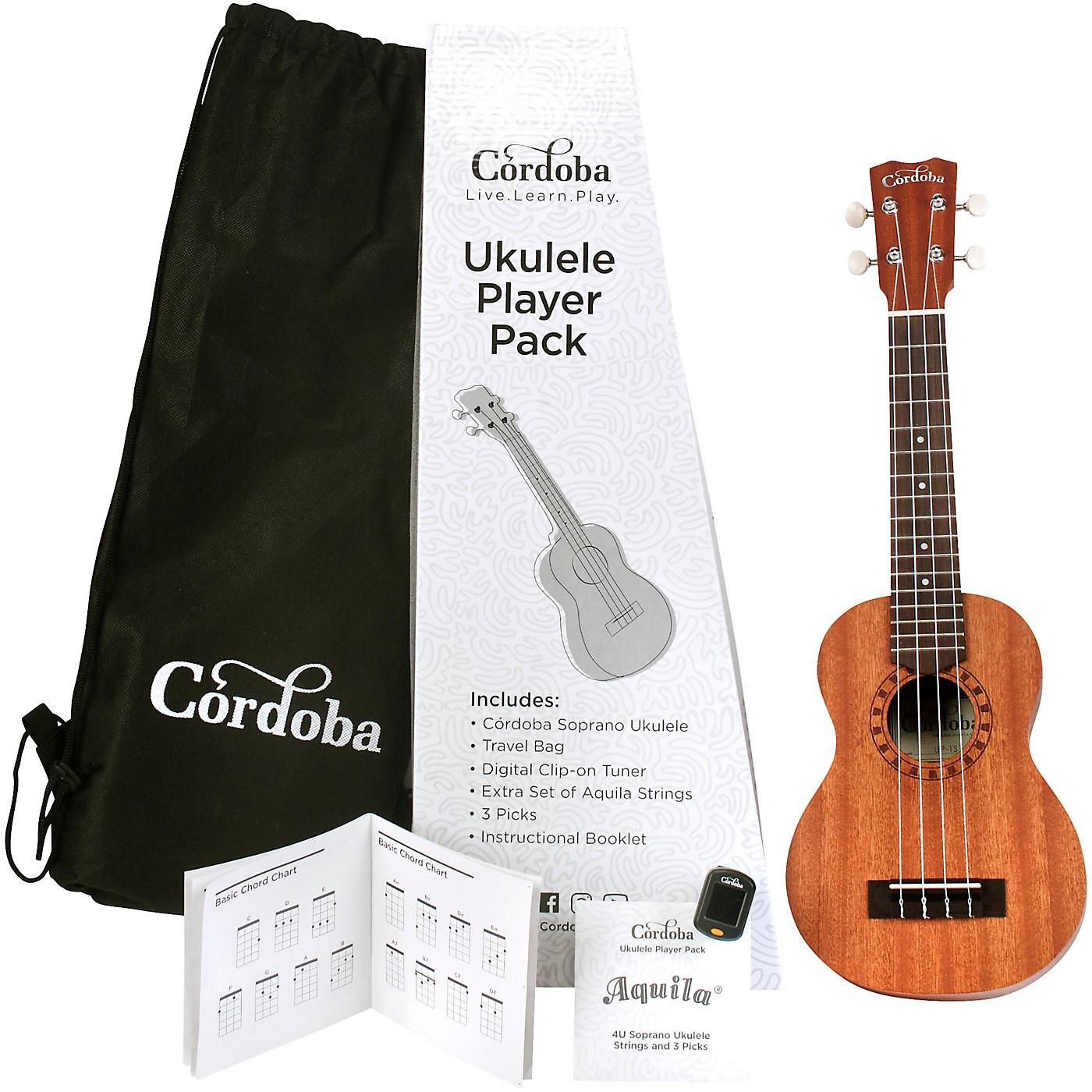 Cordoba Ukulele Players Pack thumbnail