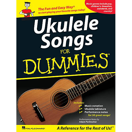 Hal Leonard Ukulele Songs For Dummies Songbook thumbnail