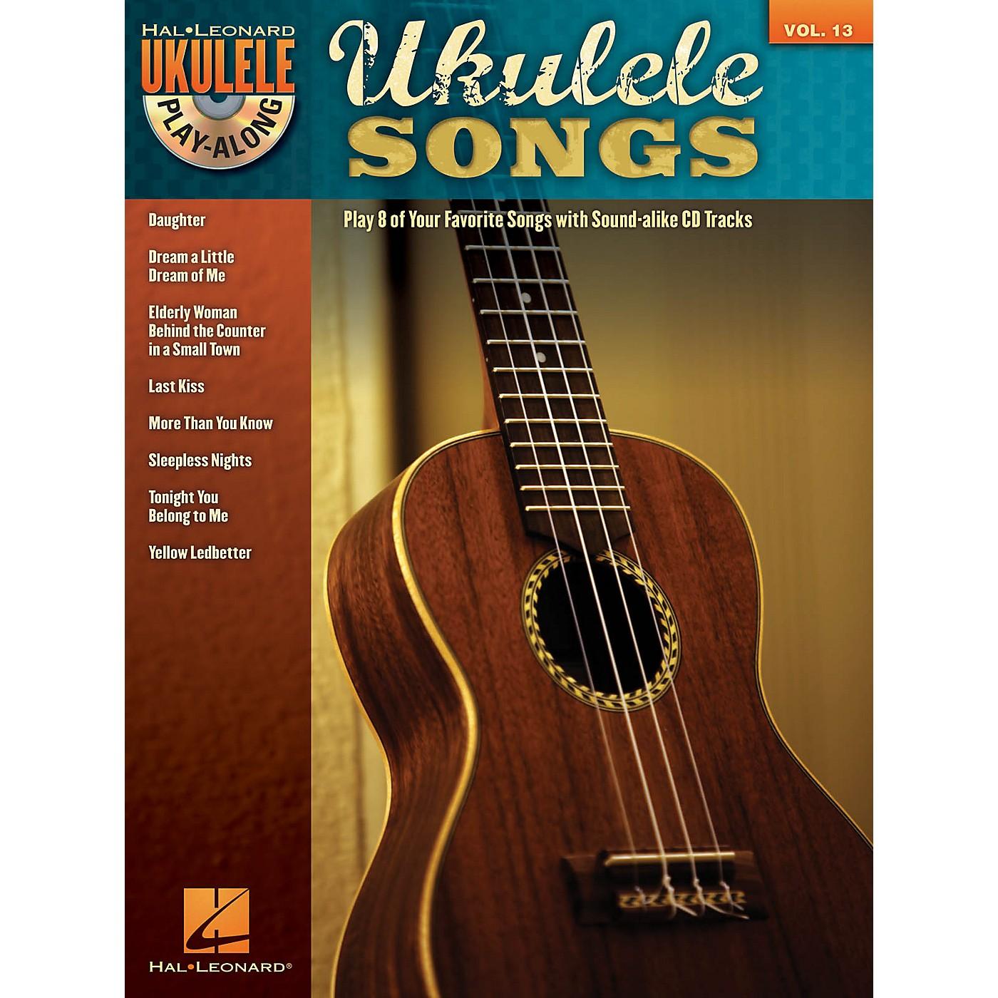 Hal Leonard Ukulele Songs (Ukulele Play-Along Volume 13) Ukulele Play-Along Series Softcover with CD thumbnail