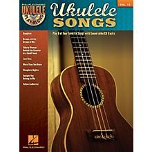 Hal Leonard Ukulele Songs (Ukulele Play-Along Volume 13) Ukulele Play-Along Series Softcover with CD