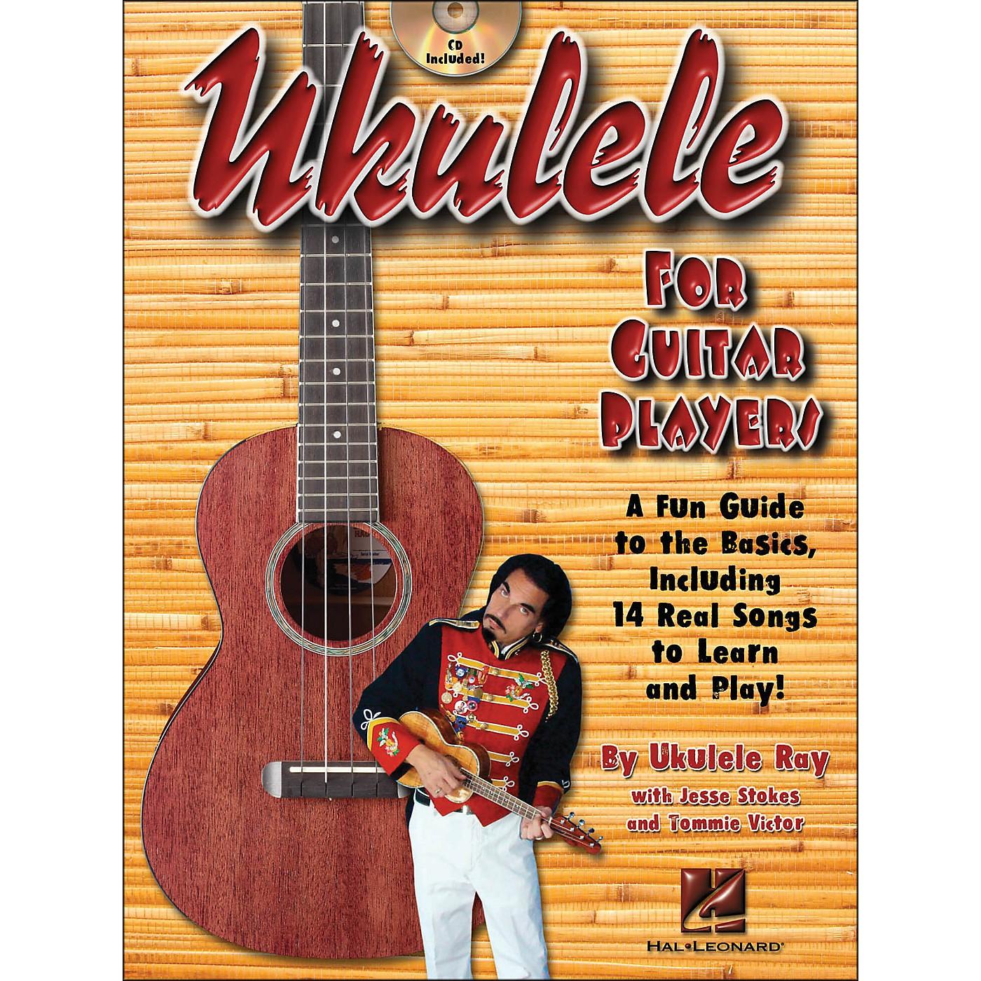 Hal Leonard Ukulele for Guitar Players Book/CD thumbnail