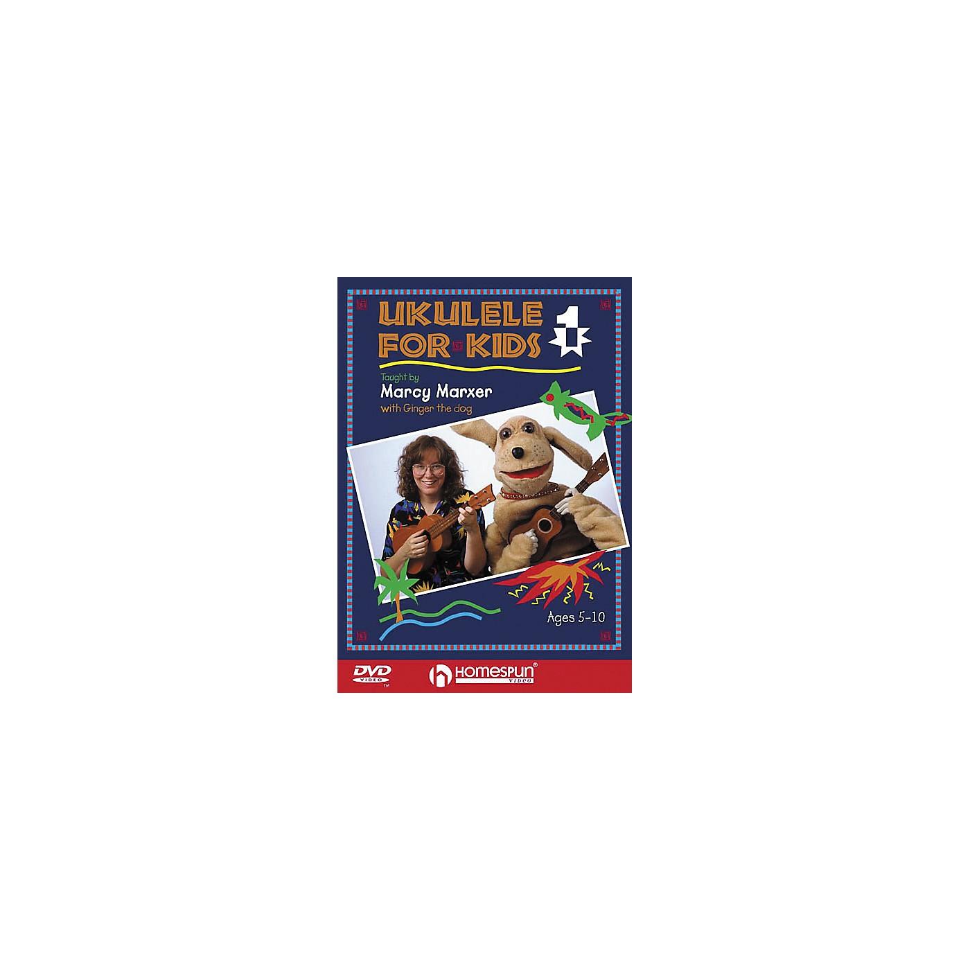 Homespun Ukulele for Kids - Lesson 1 (DVD) thumbnail