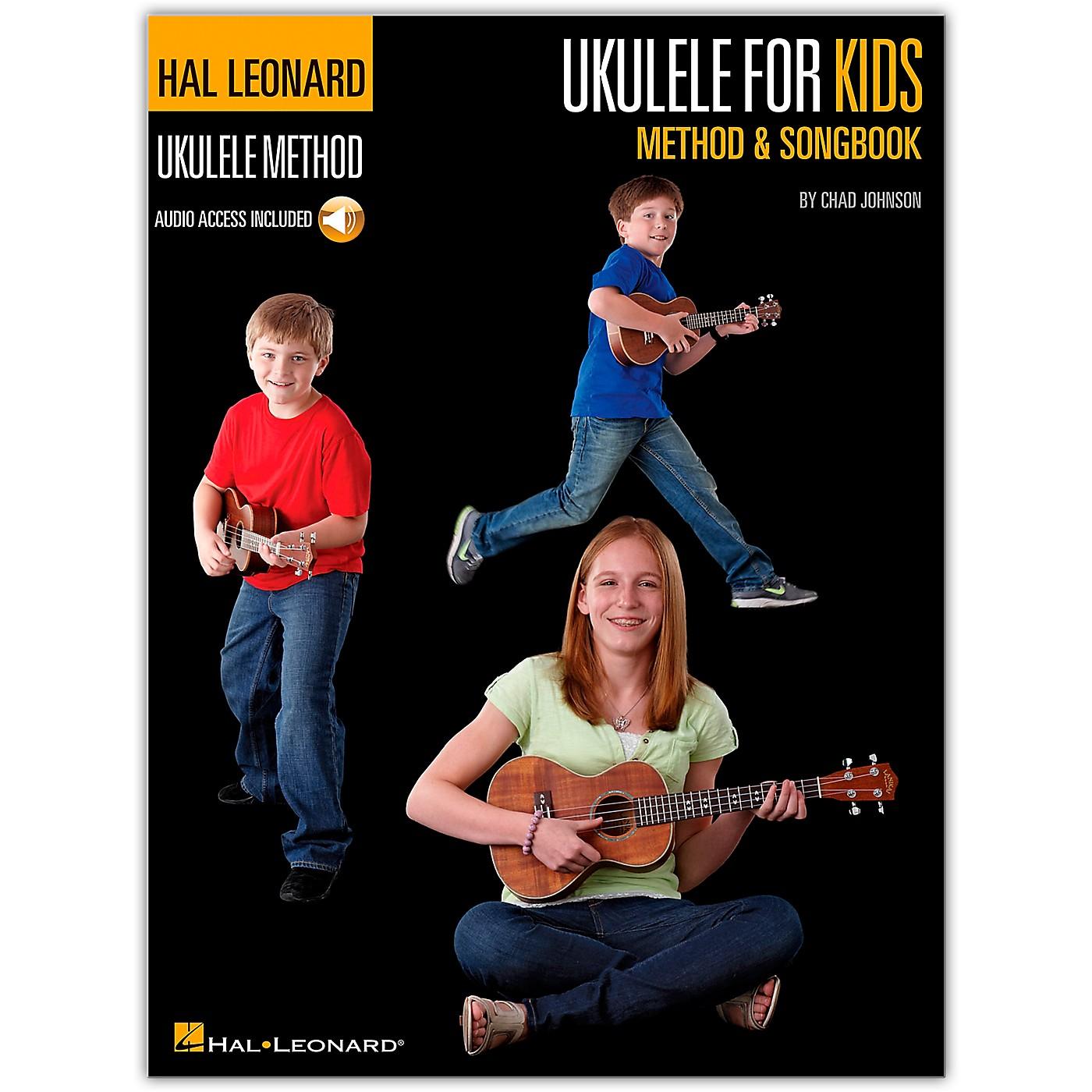 Hal Leonard Ukulele for Kids Method & Songbook Book/Audio Online thumbnail