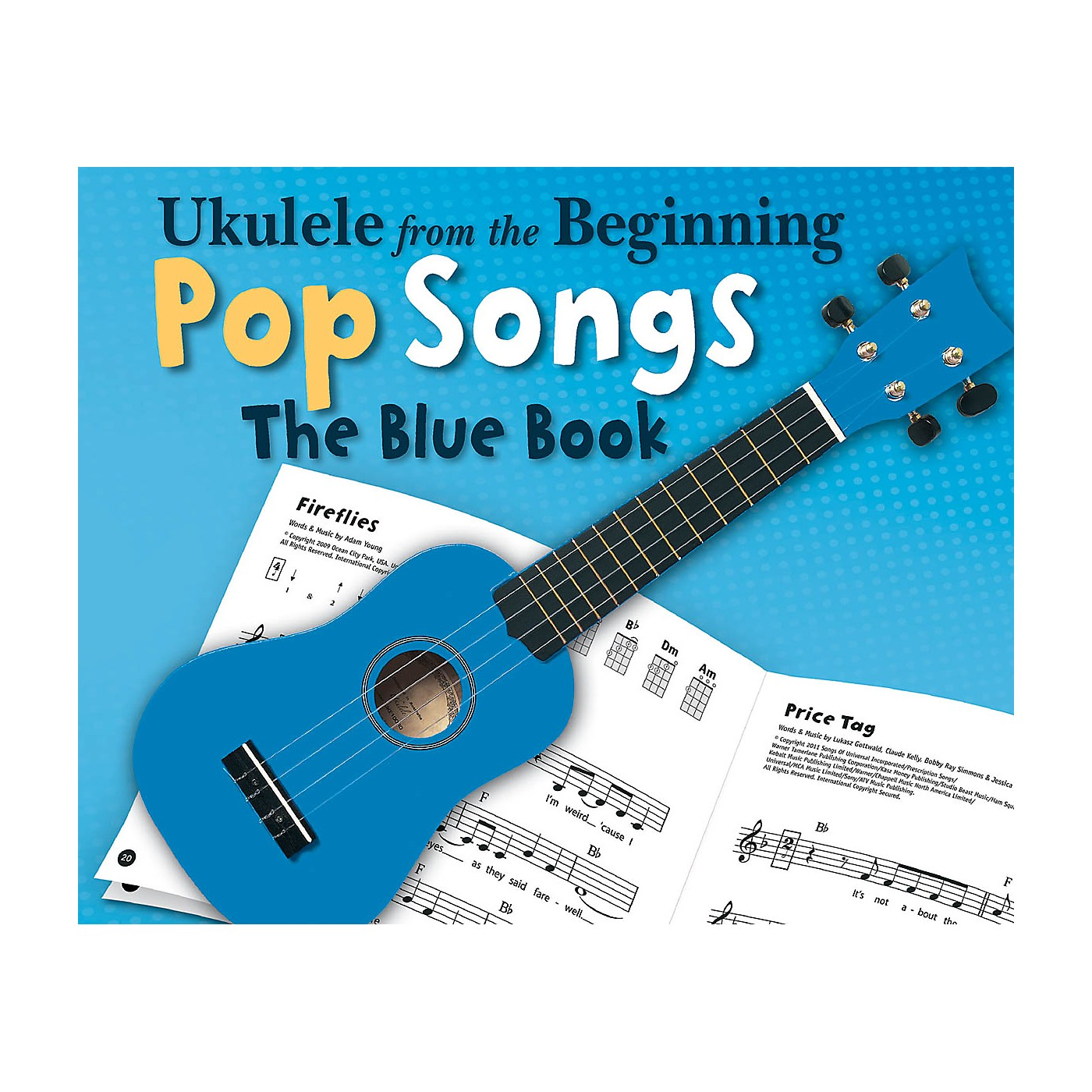 Music Sales Ukulele from the Beginning - Pop Songs (The Blue Book) Ukulele Series Softcover thumbnail