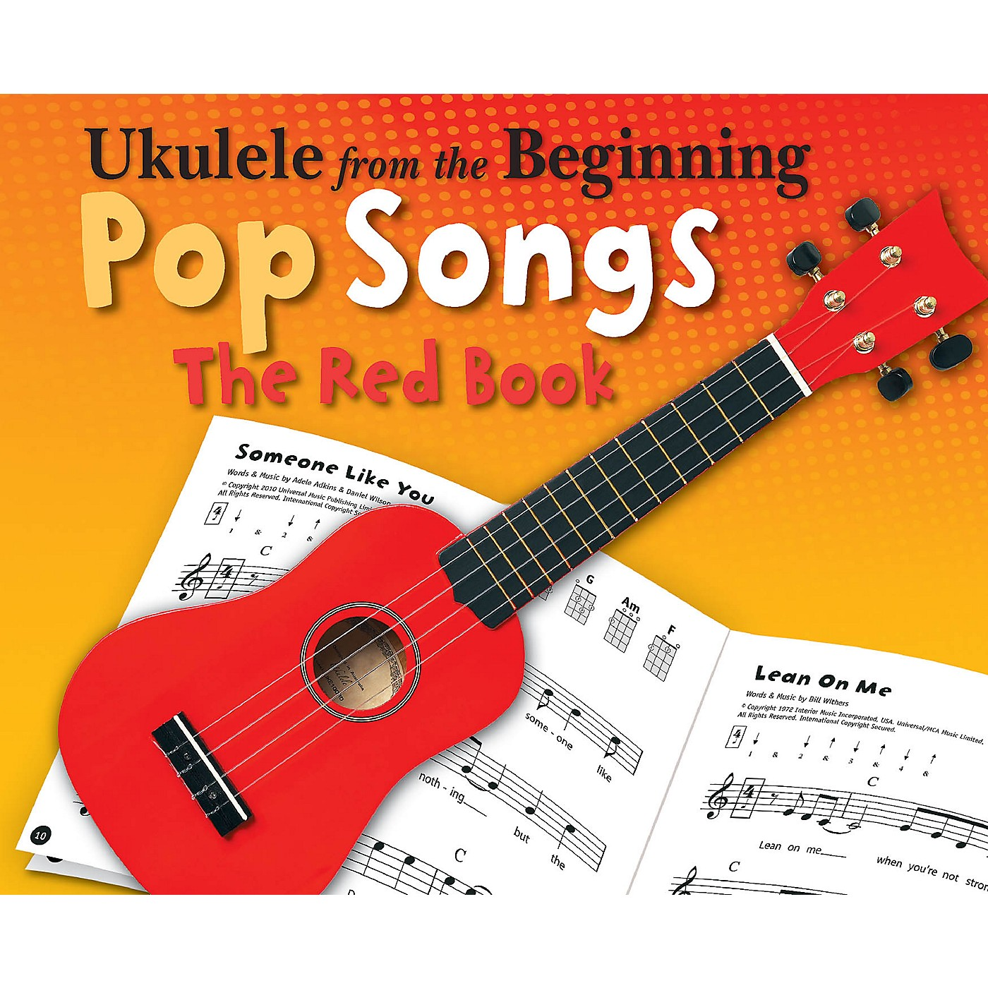 Music Sales Ukulele from the Beginning - Pop Songs (The Red Book) Ukulele Series Softcover thumbnail