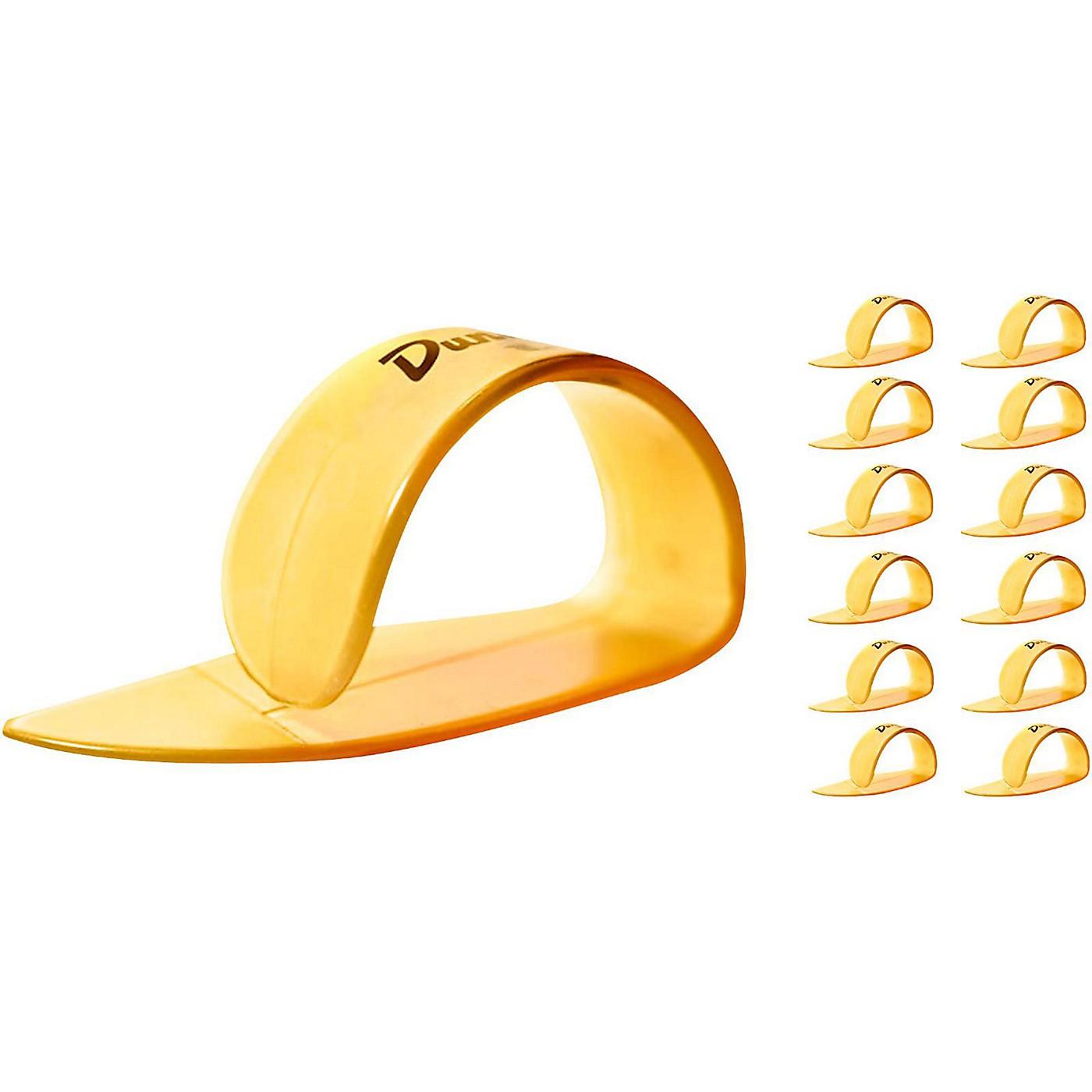 Dunlop Ultex Large Thumbpicks Gold (12-Pack) thumbnail