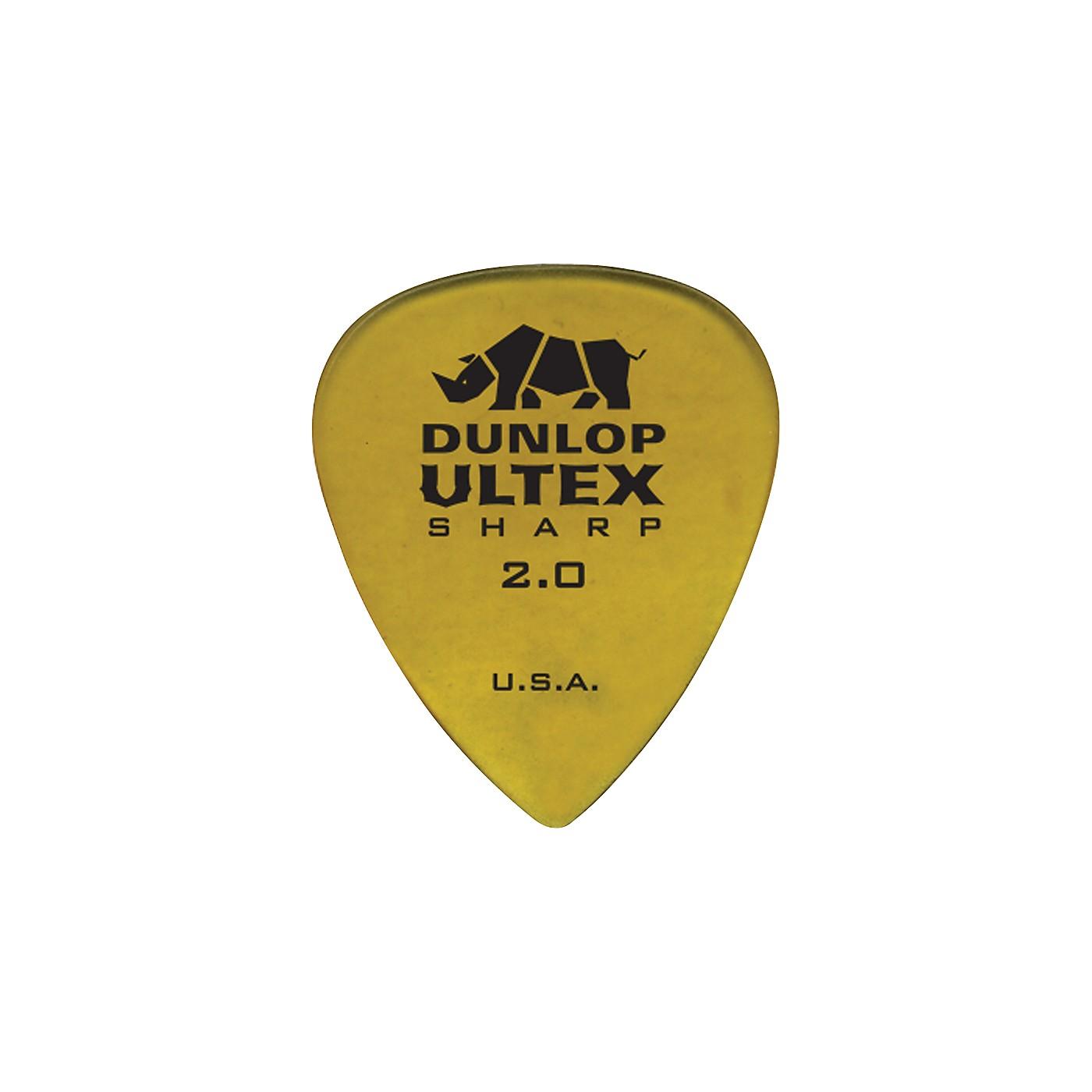 Dunlop Ultex Sharp Picks - 6 Pack thumbnail