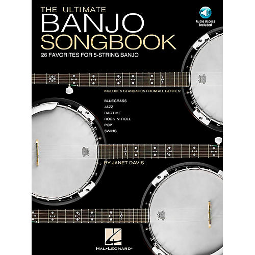 Hal Leonard Ultimate Banjo Tab Songbook with CD-thumbnail
