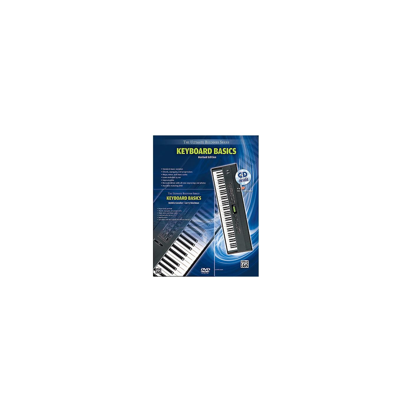 Alfred Ultimate Beginner Mega Pak Keyboard Basics (Rev. Ed.) Book, CD & DVD thumbnail