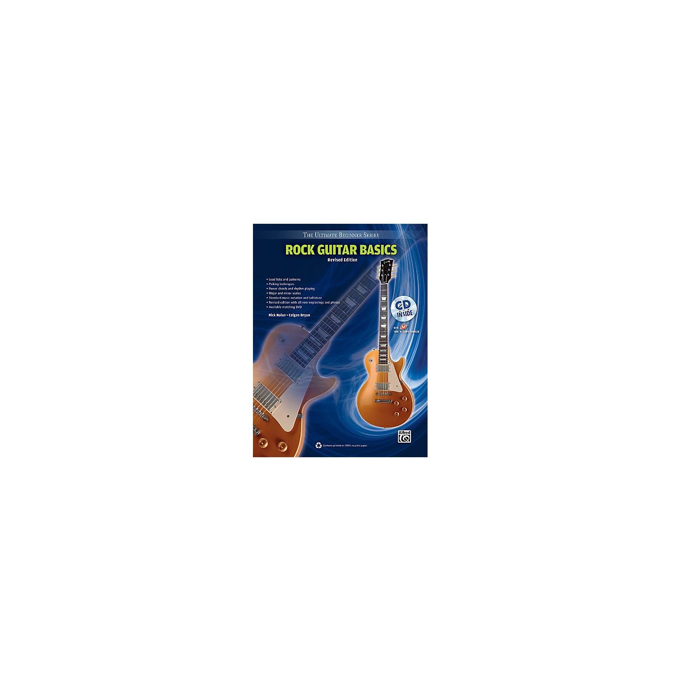 Alfred Ultimate Beginner Rock Guitar Basics (Revised Edition) Book & CD thumbnail