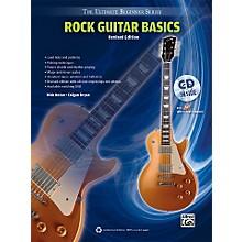 Alfred Ultimate Beginner Rock Guitar Basics (Revised Edition) Book & CD