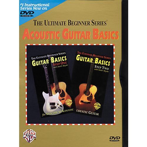 Warner Bros Ultimate Beginner Series - Acoustic Guitar Basics (DVD) thumbnail