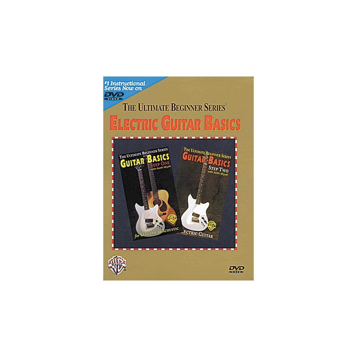 Warner Bros Ultimate Beginner Series - Electric Guitar Basics (DVD) thumbnail