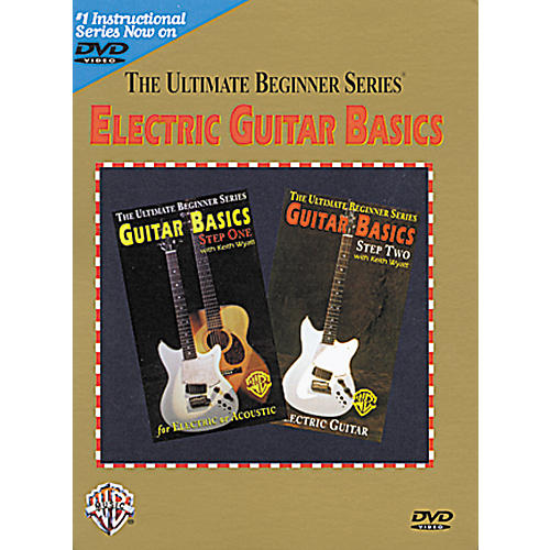 Warner Bros Ultimate Beginner Series - Electric Guitar Basics (DVD)-thumbnail