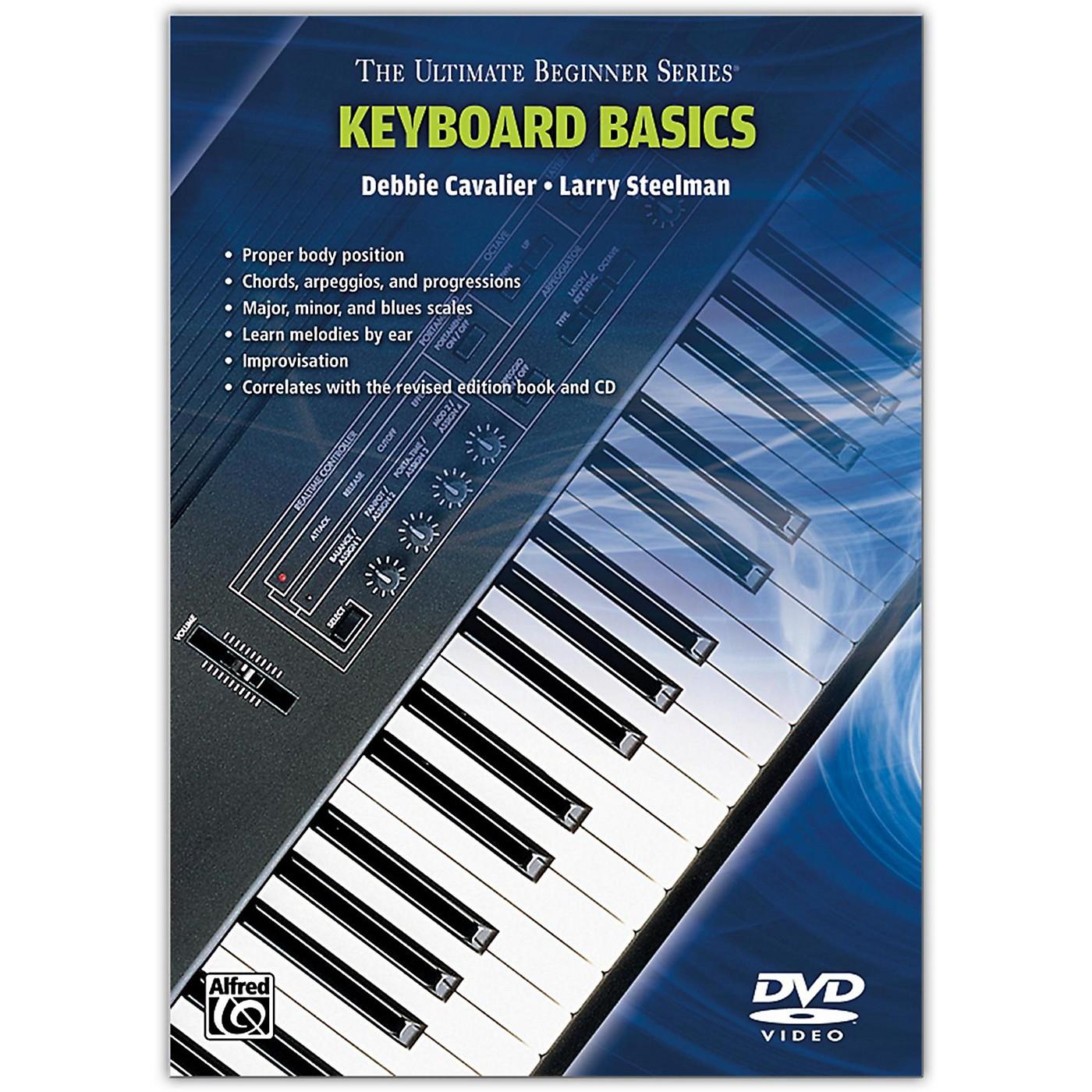 Warner Bros Ultimate Beginner Series - Keyboard Basics DVD thumbnail