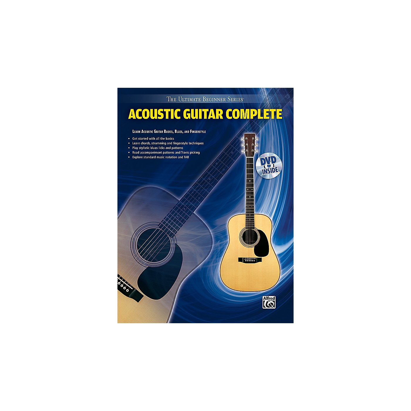 Alfred Ultimate Beginner Series: Acoustic Guitar Complete (Book/DVD) thumbnail