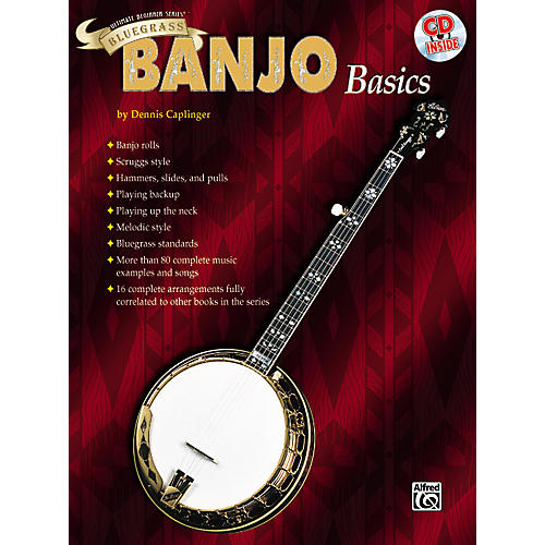 Alfred Ultimate Beginner Series Bluegrass Banjo Basics Book & CD thumbnail