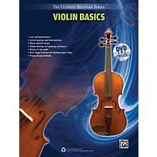 Alfred Ultimate Beginner Series Violin Basics Book & DVD
