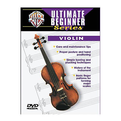 Warner Bros Ultimate Beginner Series Violin (DVD) thumbnail