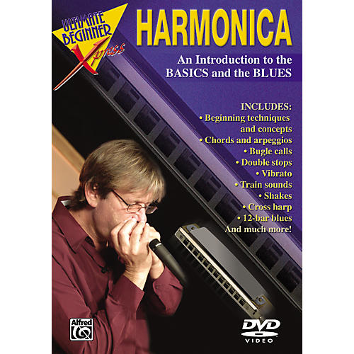 Alfred Ultimate Beginner Xpress Harmonica DVD thumbnail