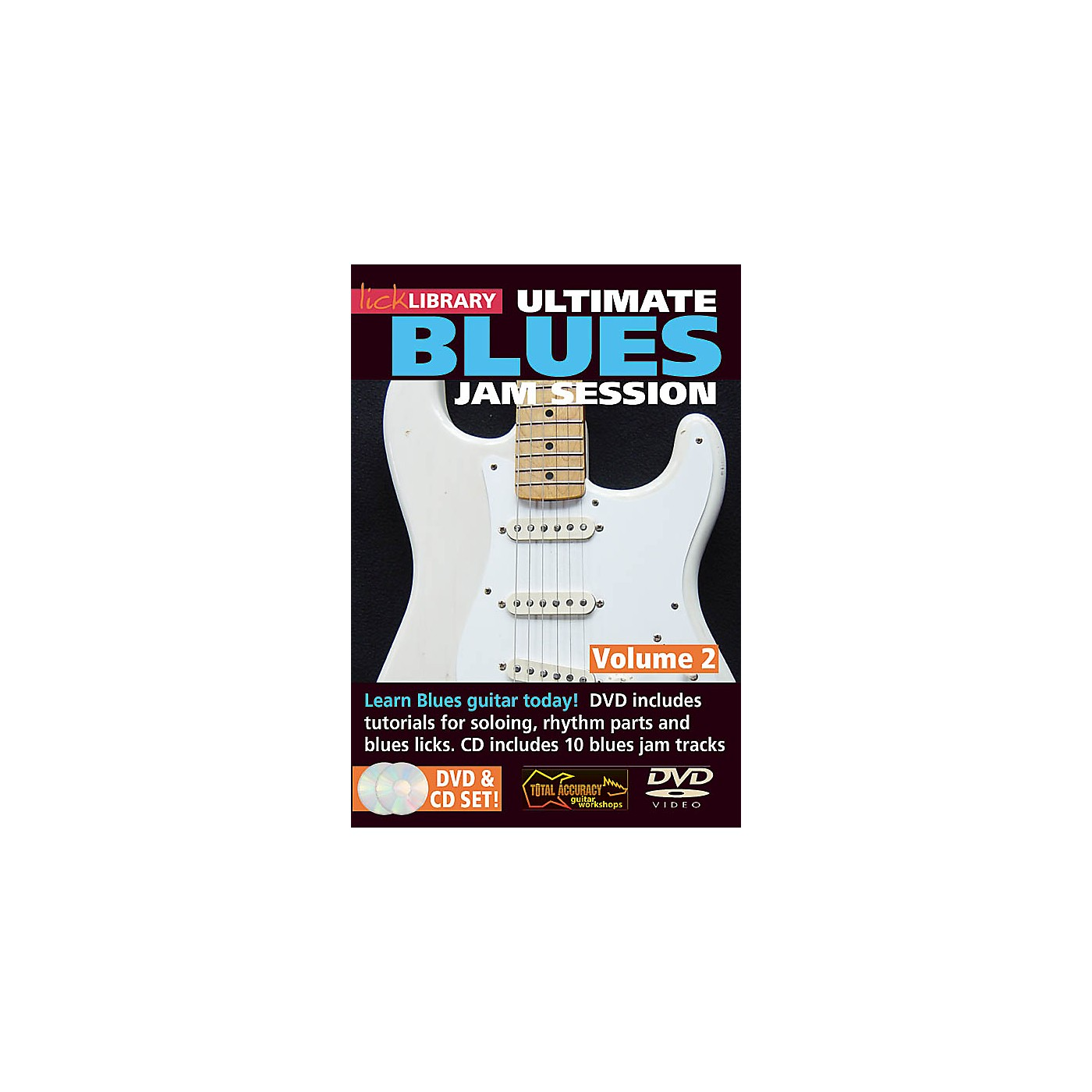 Licklibrary Ultimate Blues Jam Session (Volume 2) Lick Library Series DVD Performed by Stuart Bull thumbnail