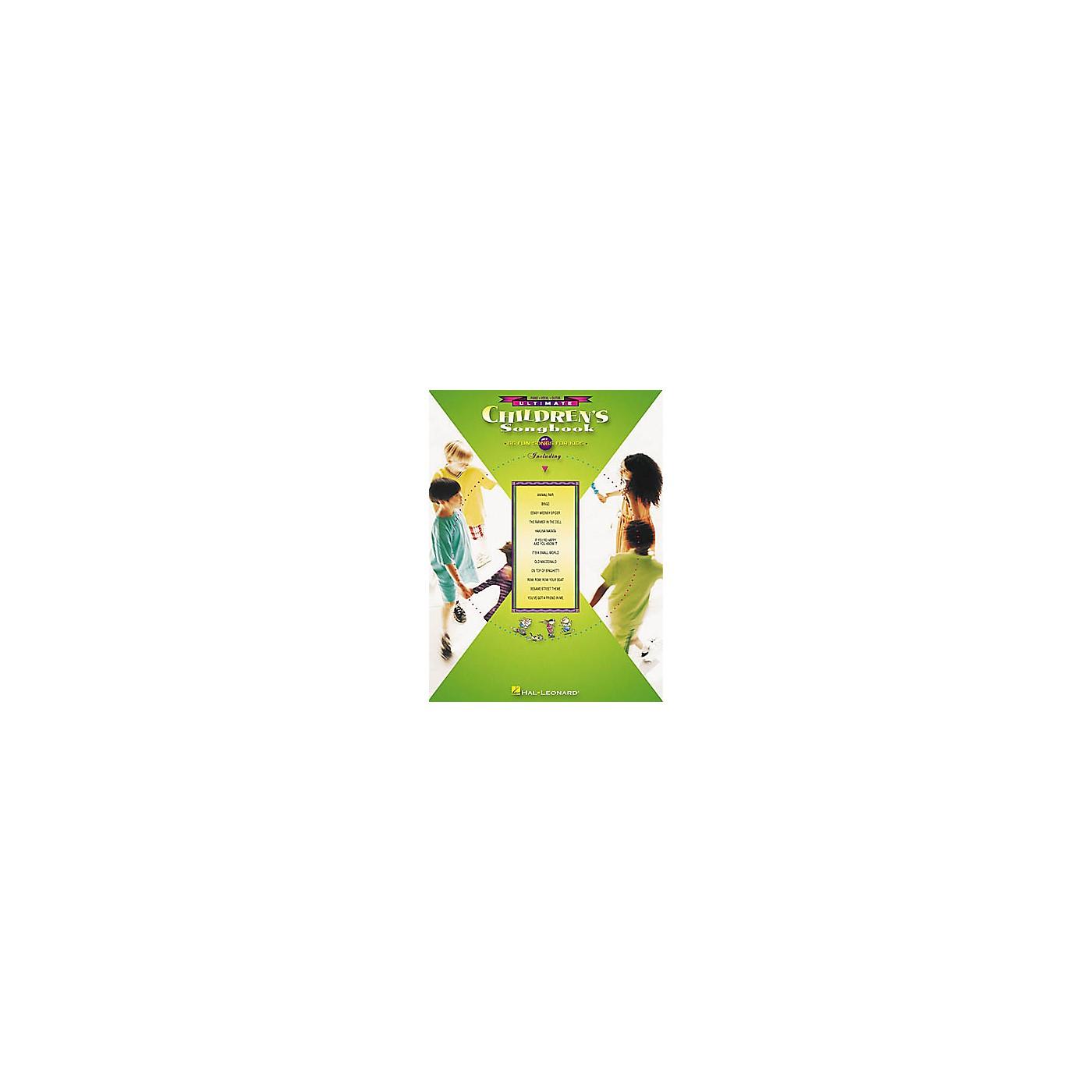 Hal Leonard Ultimate Children's Piano/Vocal/Guitar Songbook thumbnail