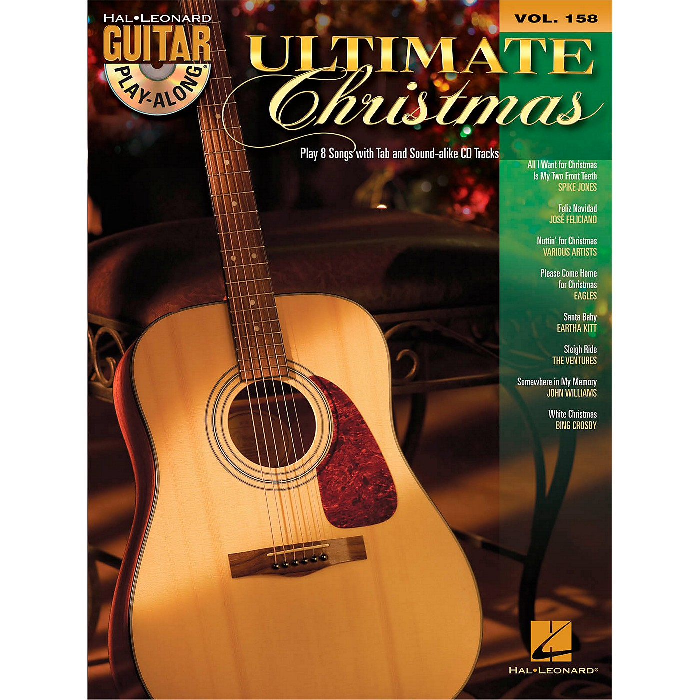 Hal Leonard Ultimate Christmas - Guitar Play-Along Vol. 158 Book/CD thumbnail