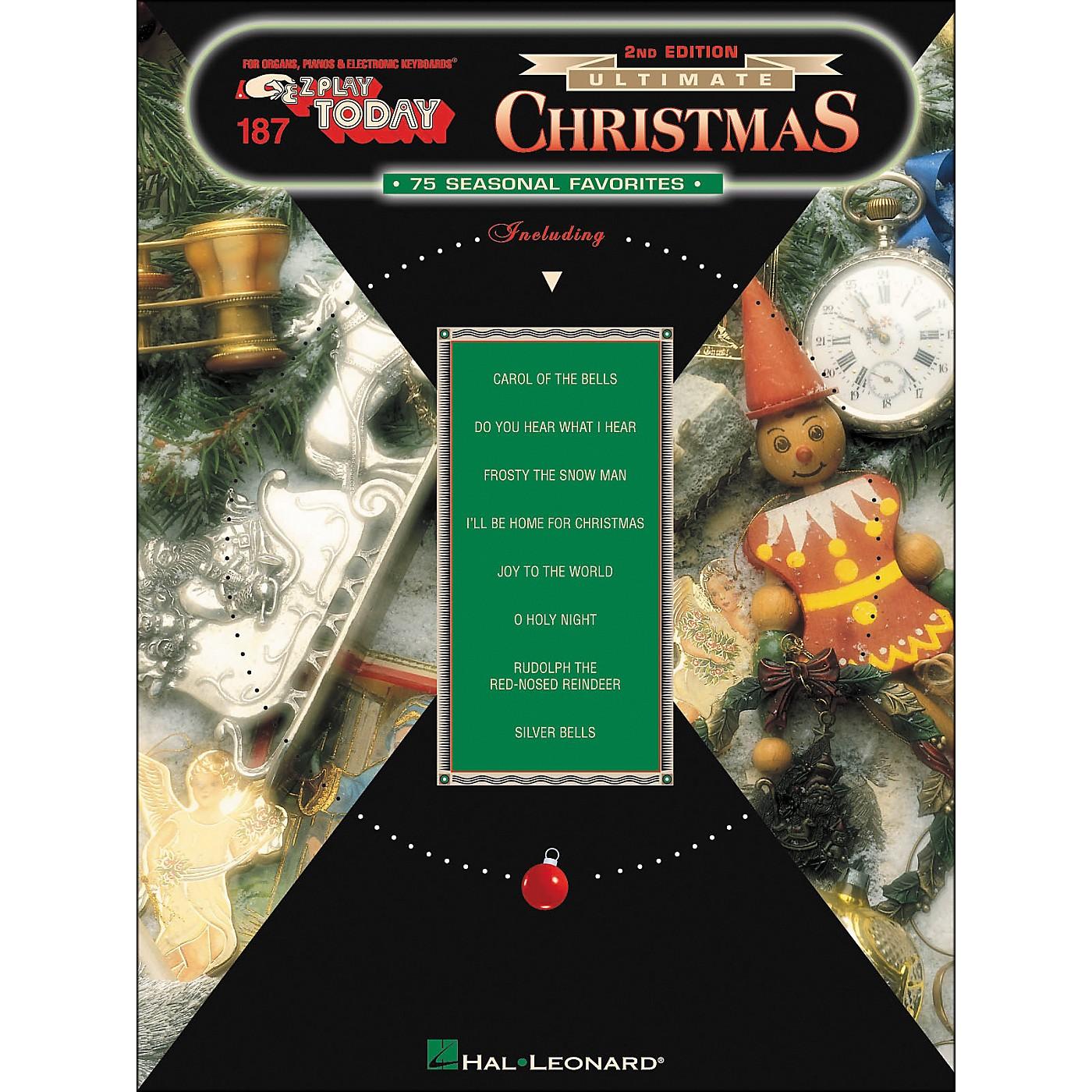 Hal Leonard Ultimate Christmas 75 Seasonal Favorites 2nd Edition E-Z Play 187 thumbnail