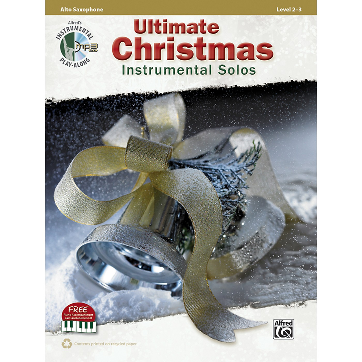 Alfred Ultimate Christmas Instrumental Solos Alto Sax Book & CD thumbnail