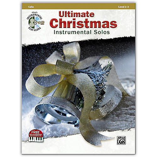 Alfred Ultimate Christmas Instrumental Solos Cello Book & CD thumbnail