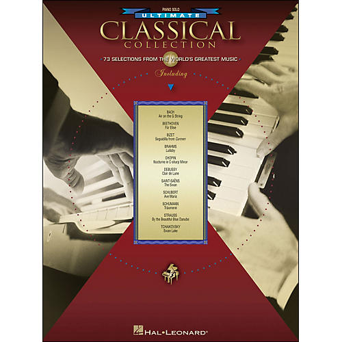 Hal Leonard Ultimate Classical Collection Piano Solo thumbnail