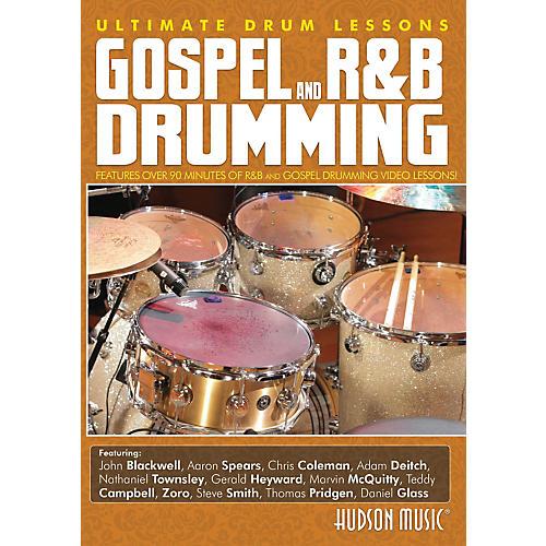 Hudson Music Ultimate Drum Lessons Series - Gospel R&B Drumming DVD thumbnail