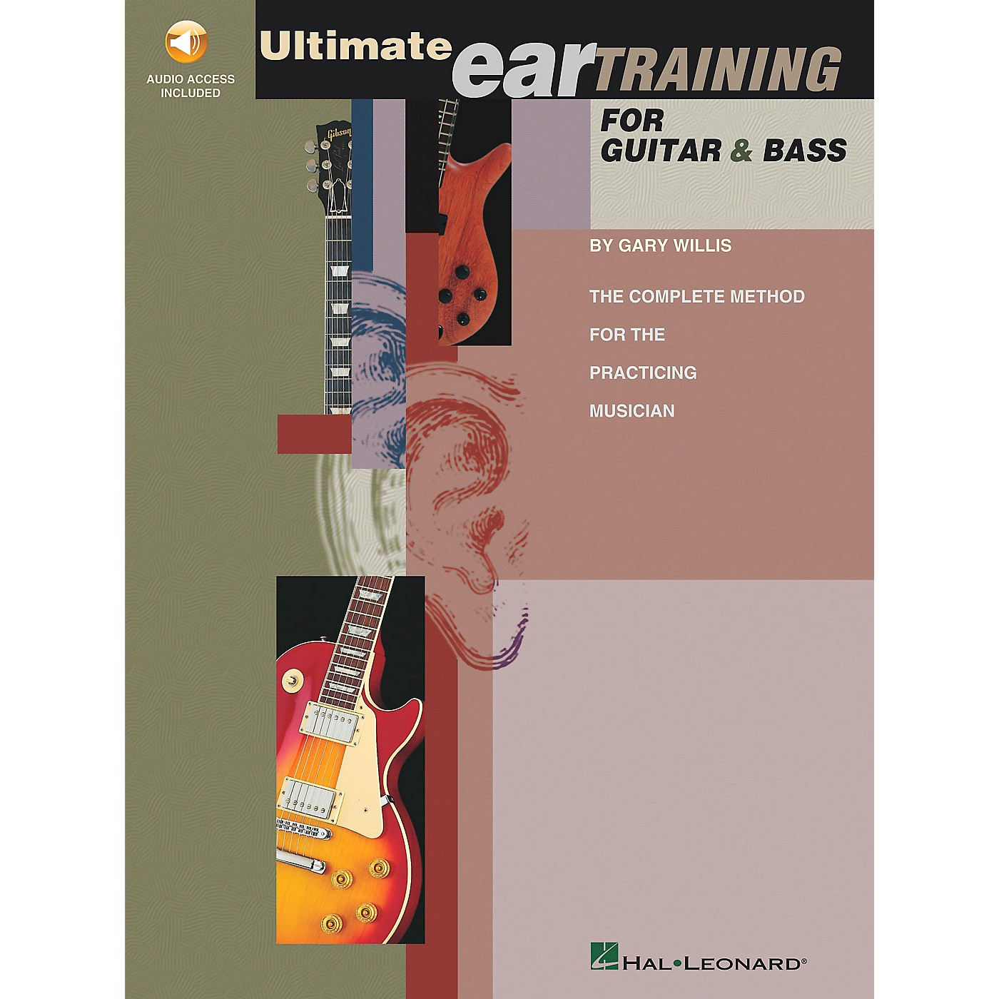 Hal Leonard Ultimate Eartraining for Guitar and Bass Book/CD thumbnail