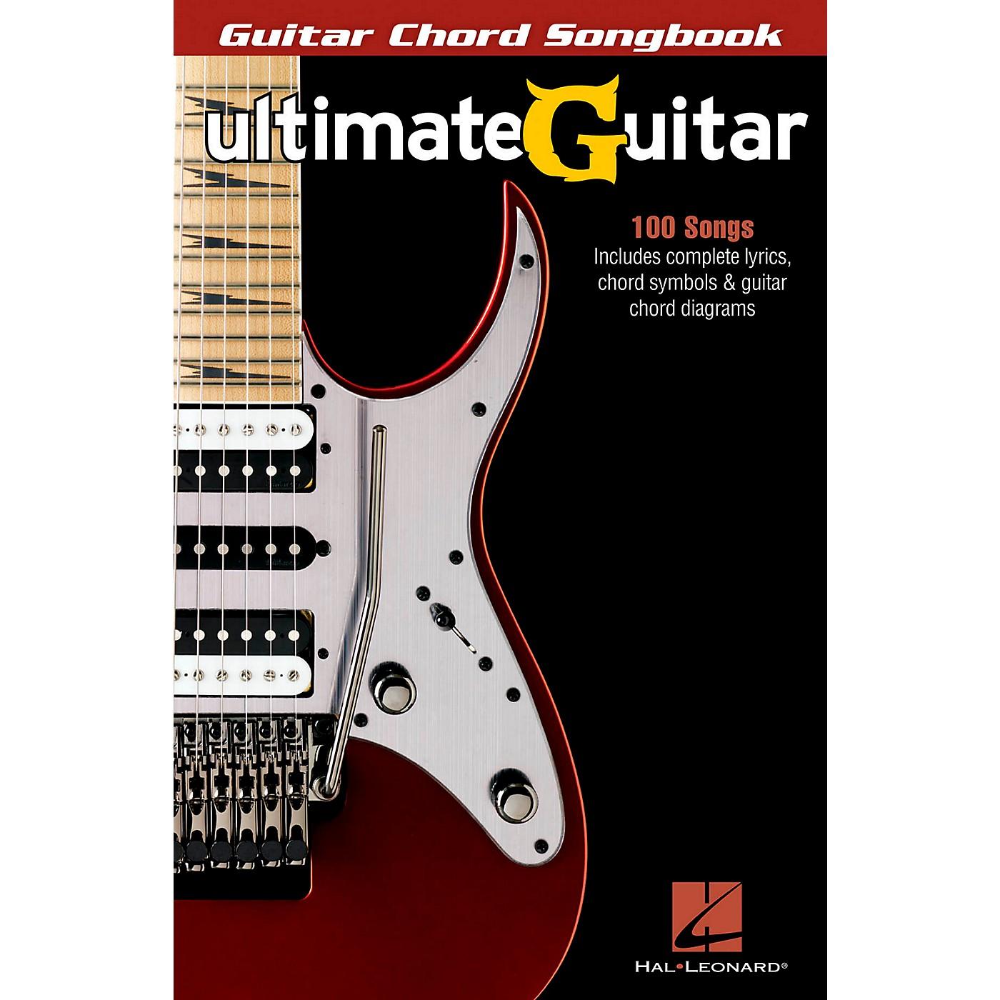 Hal Leonard Ultimate Guitar - Guitar Chord Songbook thumbnail