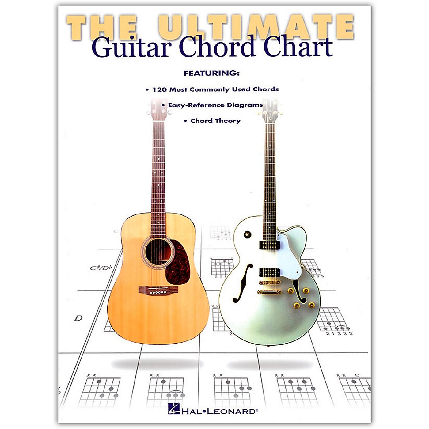 Hal Leonard Ultimate Guitar Chord Chart Book thumbnail