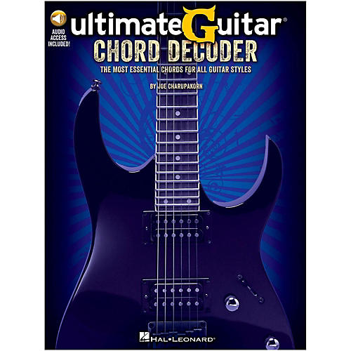 Hal Leonard Ultimate-Guitar Chord Decoder Book/Online Audio thumbnail