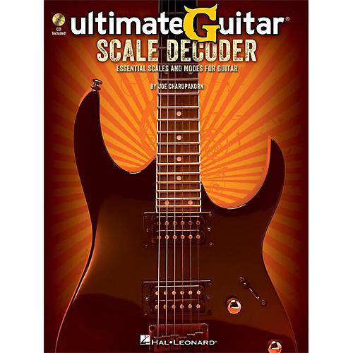 Hal Leonard Ultimate-Guitar Scale Decoder Book/CD thumbnail