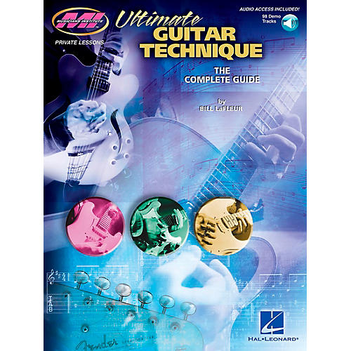 Musicians Institute Ultimate Guitar Technique Book with CD-thumbnail