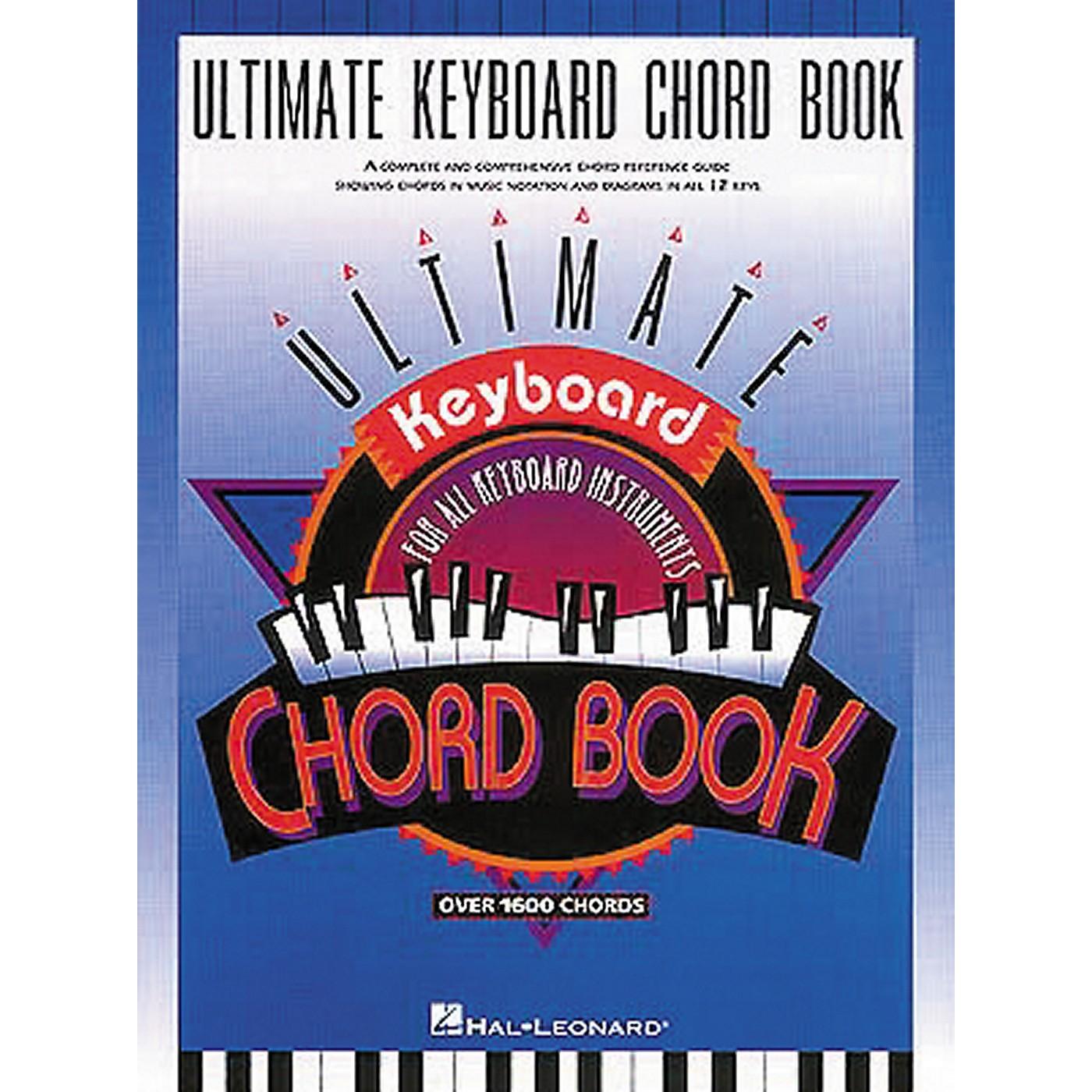 Hal Leonard Ultimate Keyboard Chord Book thumbnail