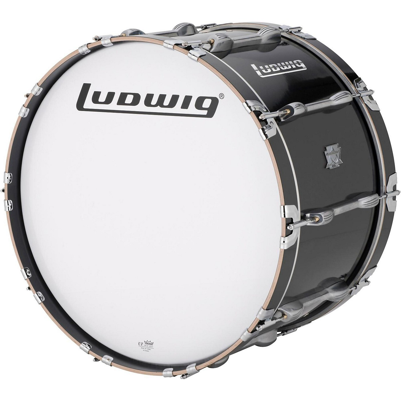 Ludwig Ultimate Marching Bass Drum - Black thumbnail