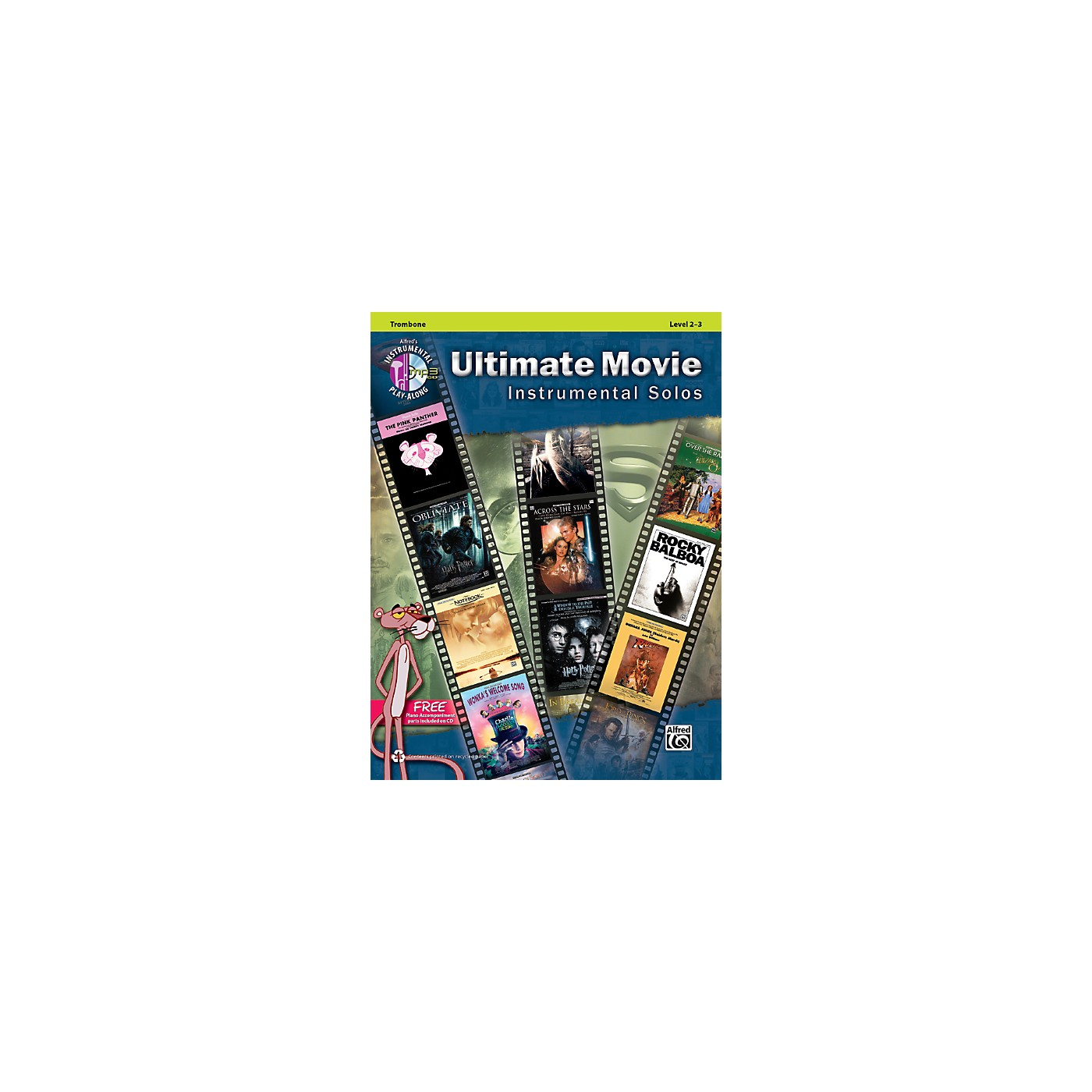 Alfred Ultimate Movie Instrumental Solos for Trombone Book & CD thumbnail