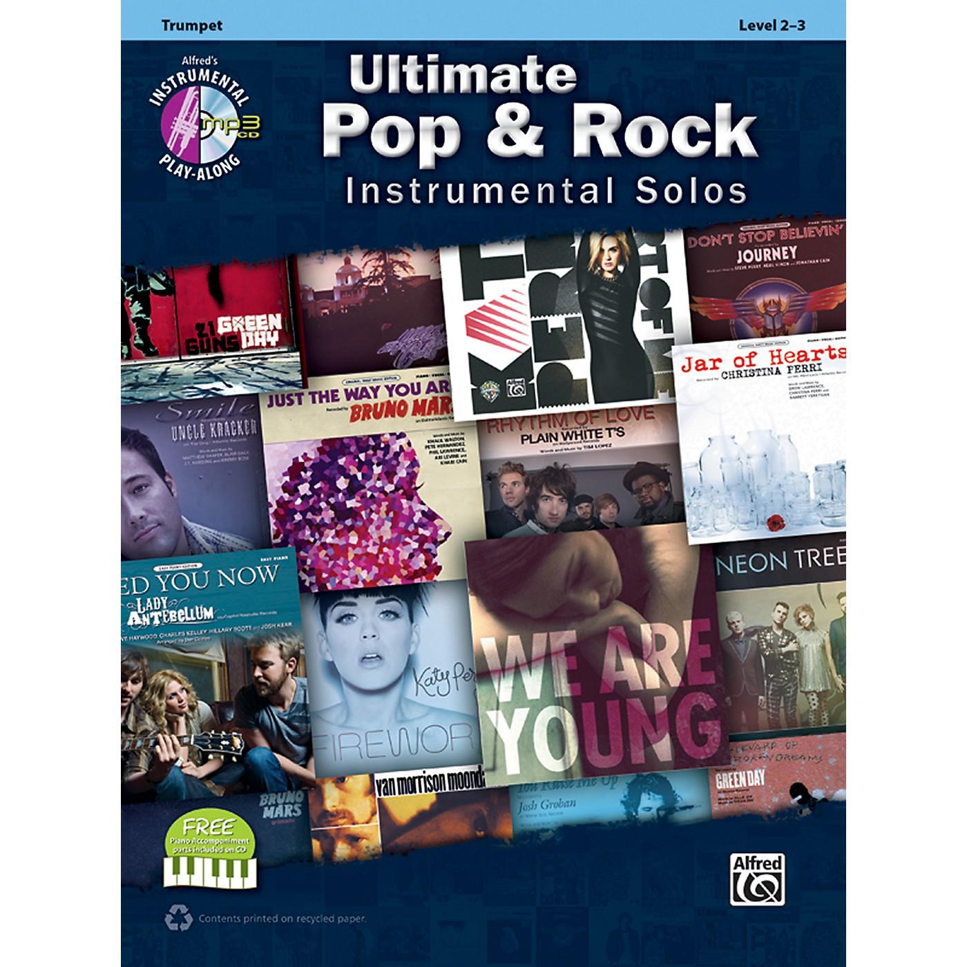 Alfred Ultimate Pop & Rock Instrumental Solos Trumpet (Book/CD) thumbnail