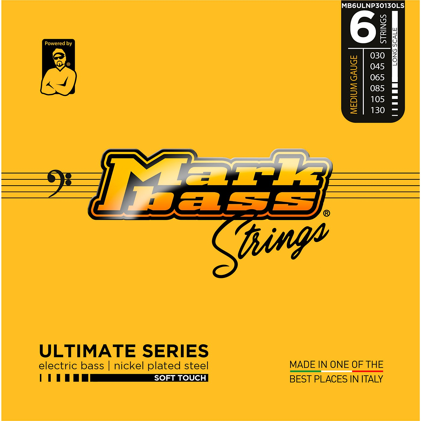 Markbass Ultimate Series Soft Touch Electric Bass Nickel Plated Steel Strings thumbnail