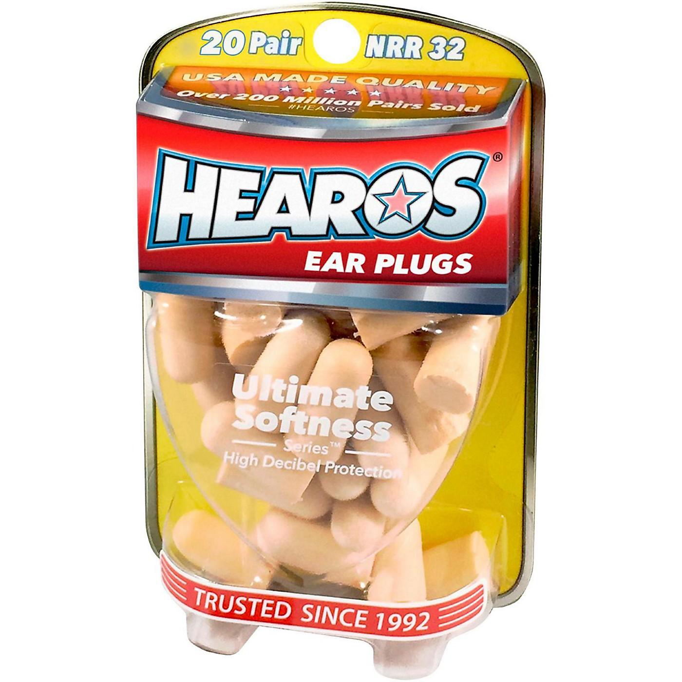 Hearos Ultimate Softness Bulk Pack Ear Plugs 20-Pairs thumbnail