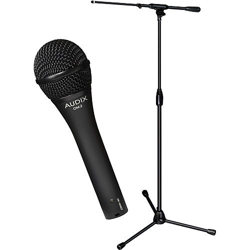Audix Ultimate Support OM-2 Microphone with PRO-T-T Telescoping Boom Mic Stand Pack thumbnail